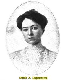 Ottilie A. Liljencrantz (1876-1910), Swedish-American writer