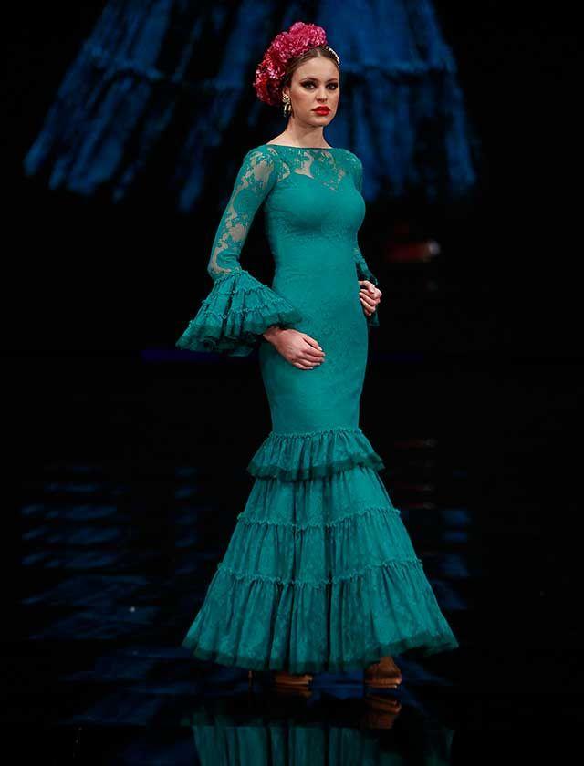Simof 2017: el desfile de Yolanda Moda Flamenca, en fotos (Rocío Ruz / Raúl Doblado)
