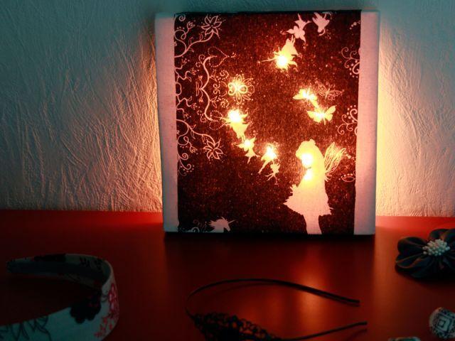 Les Ateliers de Mireia  Cadre lumineux - DIY
