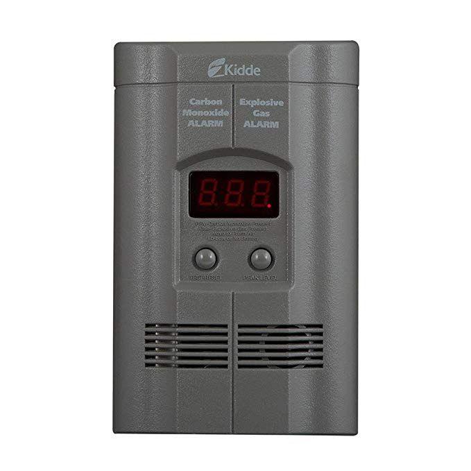 Nighthawk Plug In Carbon Monoxide Explosive Gas Alarm With Digital Display Kn Coeg 3 Grey 1 Review Gas Detector Gas Carbon Monoxide Detector