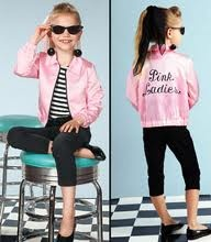pink ladies child jacket