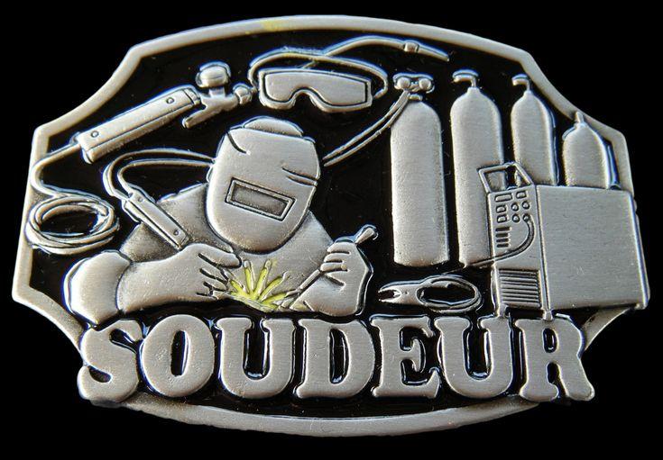 Soudeur French Welder Welding Tools Equipment Belt Buckle Buckles #soudeur #soudeurboucledeceinture #welder #welderbeltbuckle #welderbuckles #weldingbuckle #beltbuckle