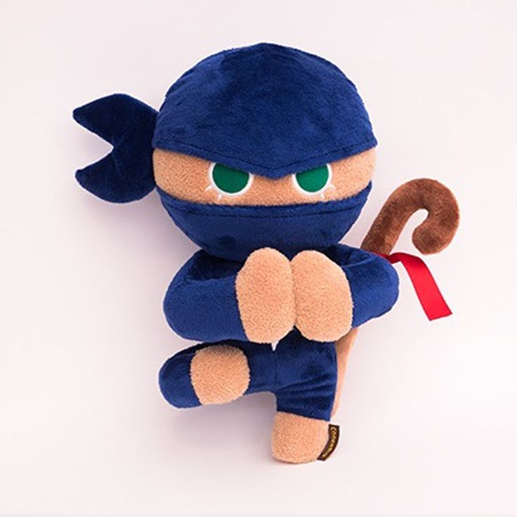 Korea Moblie Game Cookie Run Character Plush Doll 30cm 12in Ninja Cookie #Cookierun