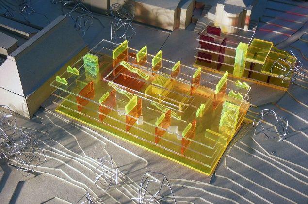 Tim Ronalds Architects   Sevenoaks School model