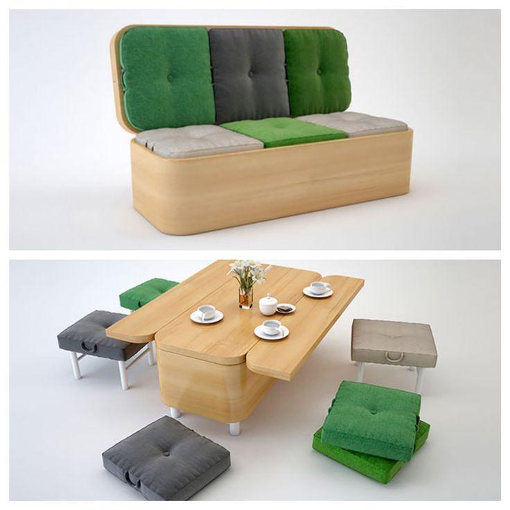81 best petits espaces optimis s images on pinterest beau guitares basses et pi ce de loisirs. Black Bedroom Furniture Sets. Home Design Ideas