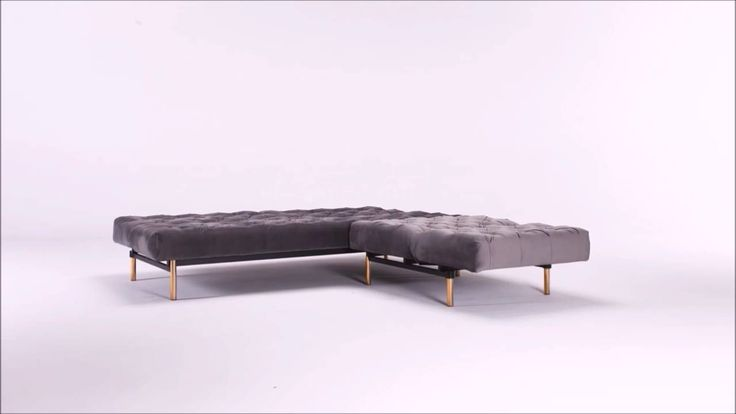 Oldschool sofa with chair, dressed in Grey velvet and brass legs.