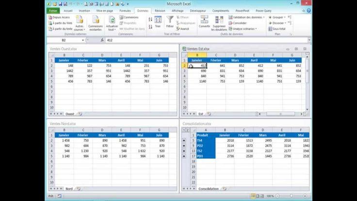 Consolidation de données