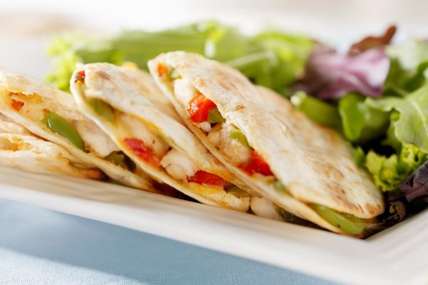 Creative quesadilla recipes, two aren't veggie but I could give them a veg over.