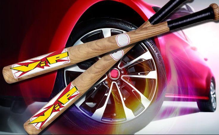 2016New Kayu Tongkat Bisbol Softball Kelelawar Anak Anak Kayu Man Baseball Pemula Pelatihan Bermain Aksesori