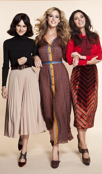 1970's excellent interpretation of 1970's fashion...Nice!