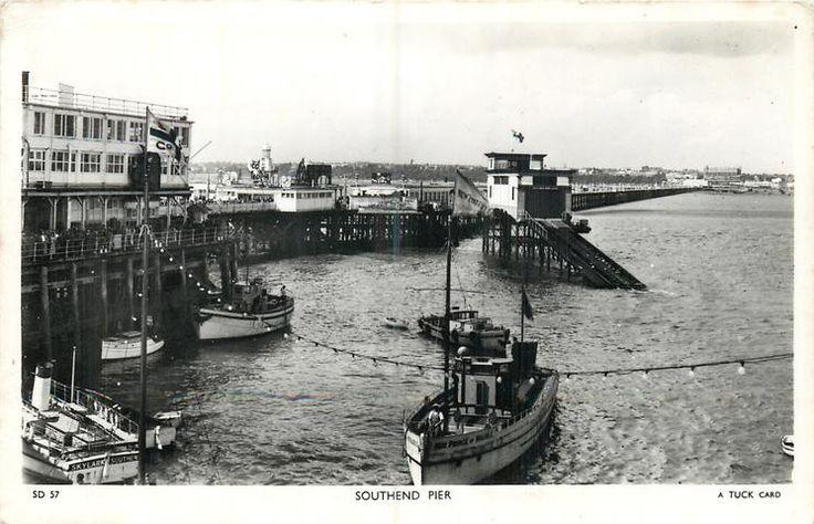 Southend Pier c1950.