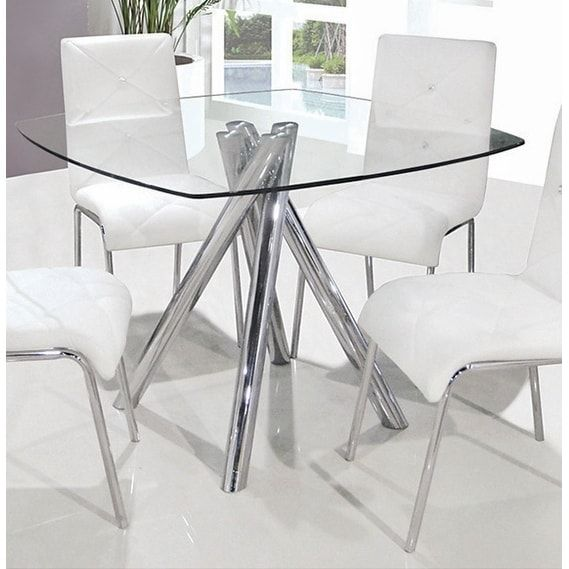 Overstock Com Online Shopping Bedding Furniture Electronics Jewelry Clothing More In 2021 Square Glass Dining Table Glass Dining Table Small Glass Dining Table
