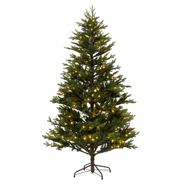 Luxury Tannenbaum mit LED Beleuchtung Kingswood Gr n