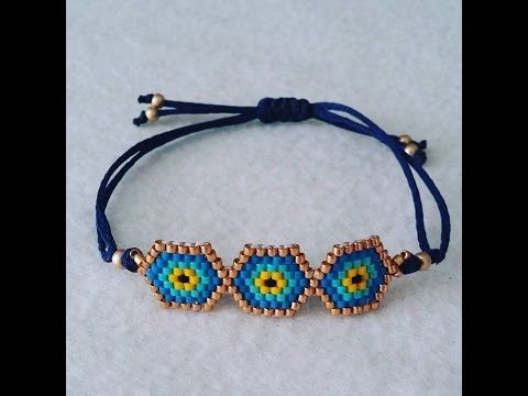 PULSERA OJO TURCO - YouTube