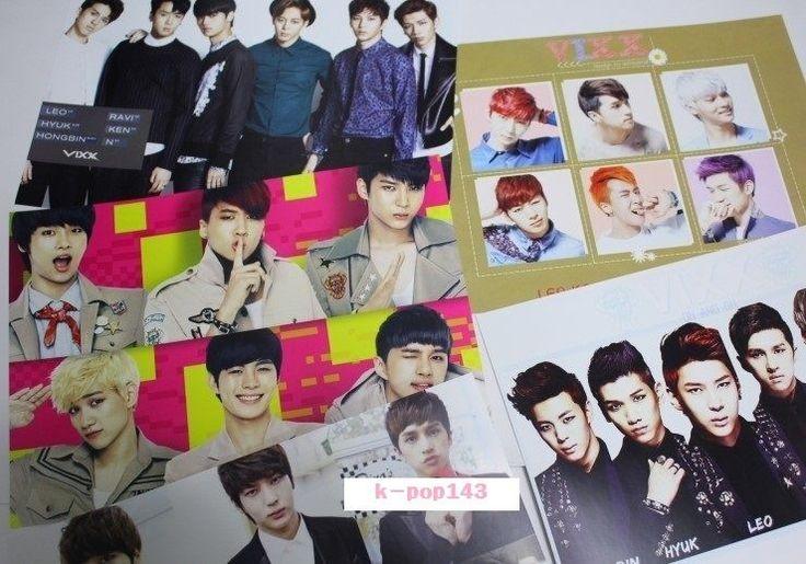 [ VIXX ] Vixx Poster 10pcs Size of A4 Paper  K-POP Kpop Idol Star Coods
