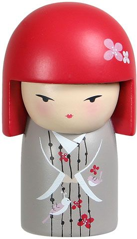 """Kimmidoll™ Etsumi - 'Delight' - """"My spirit is joyful and playful. You release my spirit by approaching life with a sense of fun and excitement. Let your playful spirit bring joy and happiness into your own life and the lives of all those around you."""""""