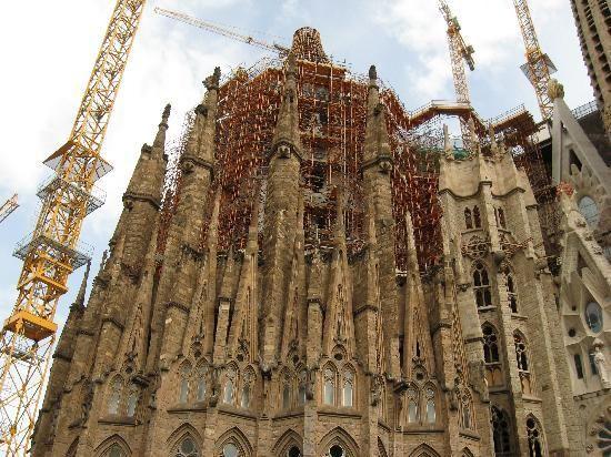 Barcelona, Spain - Cathedral de Segura de la Familia