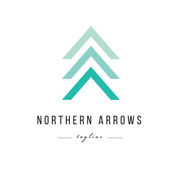Monnaie flèche Logo - création de logo pré-faites minimaliste