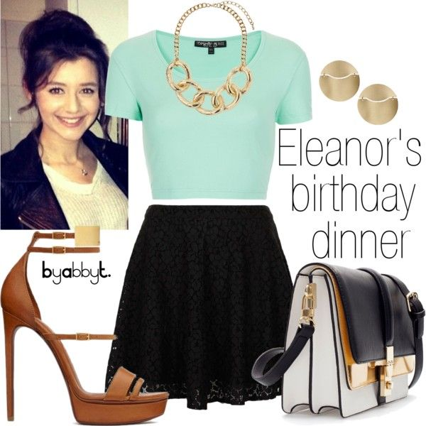 """""""Eleanor's birthday dinner outfit"""" by abbytamase on Polyvore"""