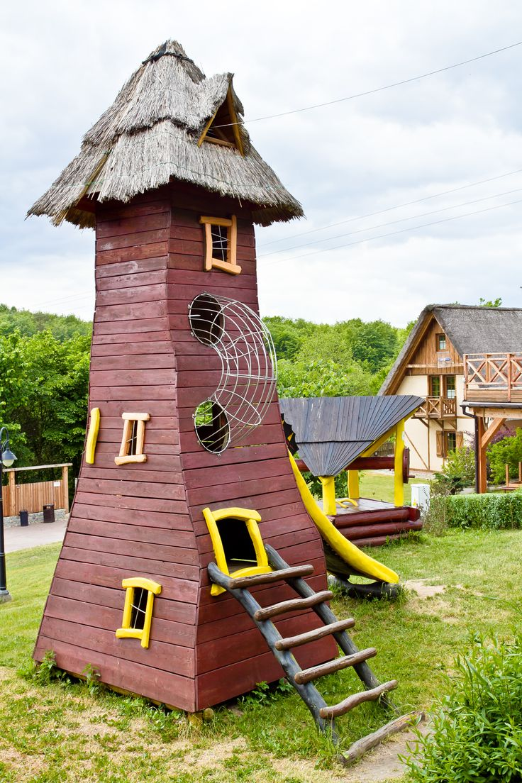 Dziecięca wieża widokowa