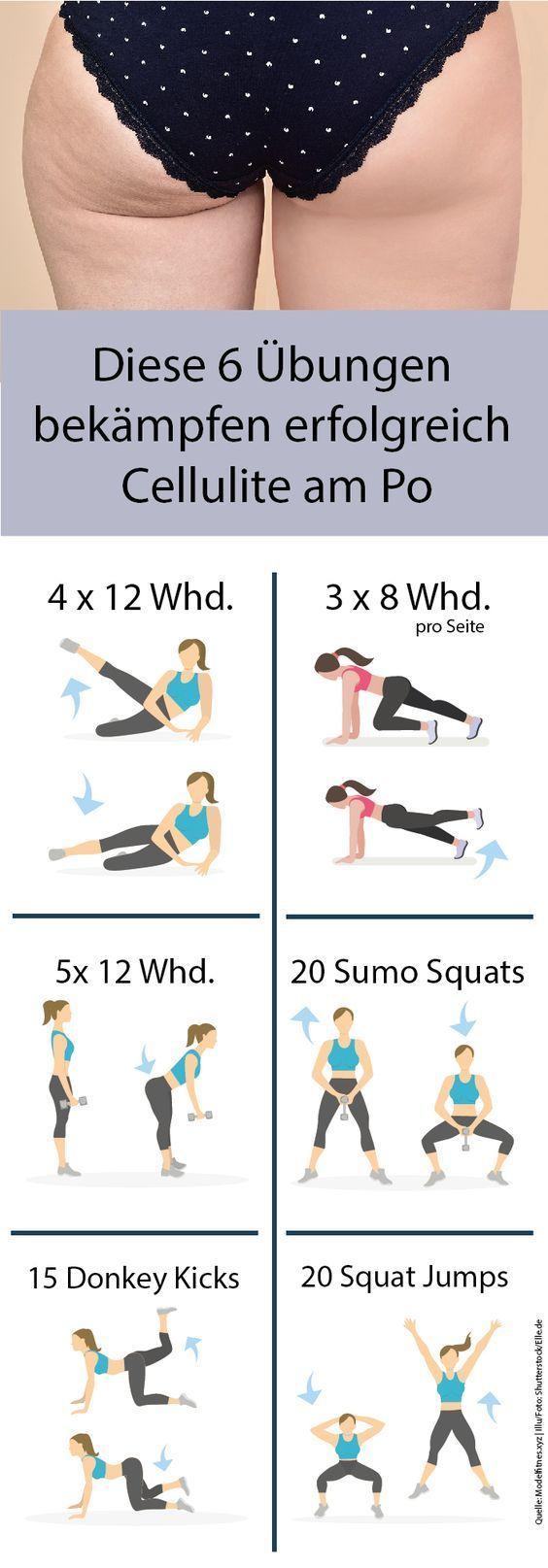 Egal, wie oft wir ins Fitnessstudio rennen oder die Sportarten für ein ausgewogenes Training wechseln, ein Problem bleibt bis zum Schluss: Cellulite. Dabei ist genau sie meist der Grund, überhaupt mit dem Workout für den perfekten Sommer-Body anzufangen. Was können wir also gegen die scheinbar unbesiegbaren Dellen tun? Fakt ist: Wir brauchen einen Masterplan, um die Orangenhaut zu bekämpfen. Hier sind sechs Power-Übungen für einen straffen Po ohne Cellulite.