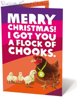 Oxfam Unwrapped - gift a chicken this Christmas and help communities who need it at the same time. The gift that keeps on giving.