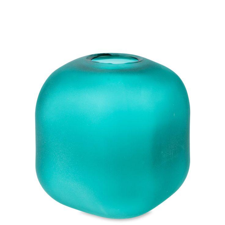 Vaso di vetro, Bellis Turchese