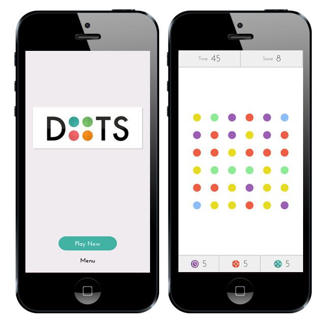 Dots | 7 iPhone Games for Summer Travel