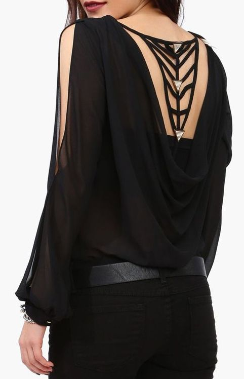 Geometric back detail #wearabledesign
