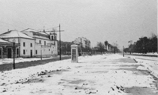 Nevão no Campo Grande - 1945