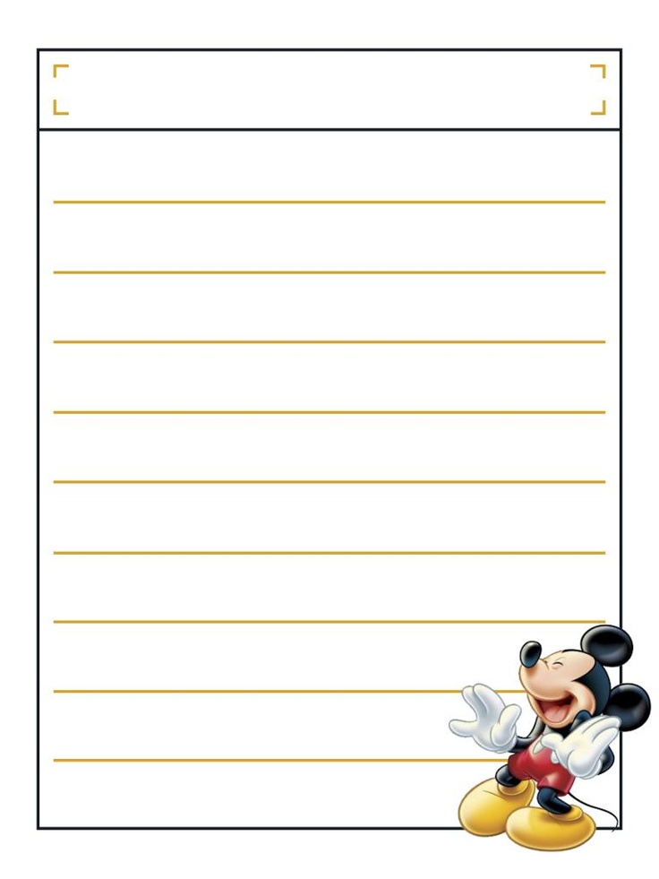 """Mickey laughing with title box - Project Life Disney Journal Card - Scrapbooking. ~~~~~~~~~ Size: 3x4"""" @ 300 dpi. This card is **Personal use only - NOT for sale/resale** Logos/clipart belong to Disney. ***Click through to photobucket to see this this card with lots of different characters***"""