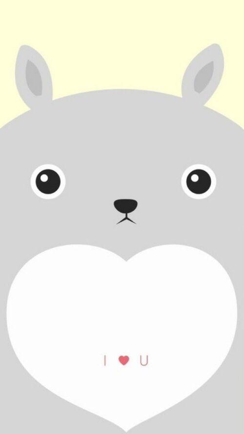 17 best images about pack de wallpaper de caritas on - Totoro wallpaper iphone ...