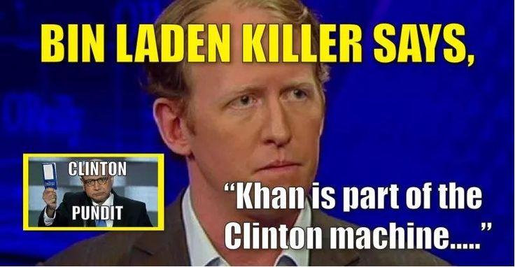 "VIDEO: Bin Laden Assassin, Navy Seal Rob O'Neill Says, ""Khan Part of Clinton Machine"""