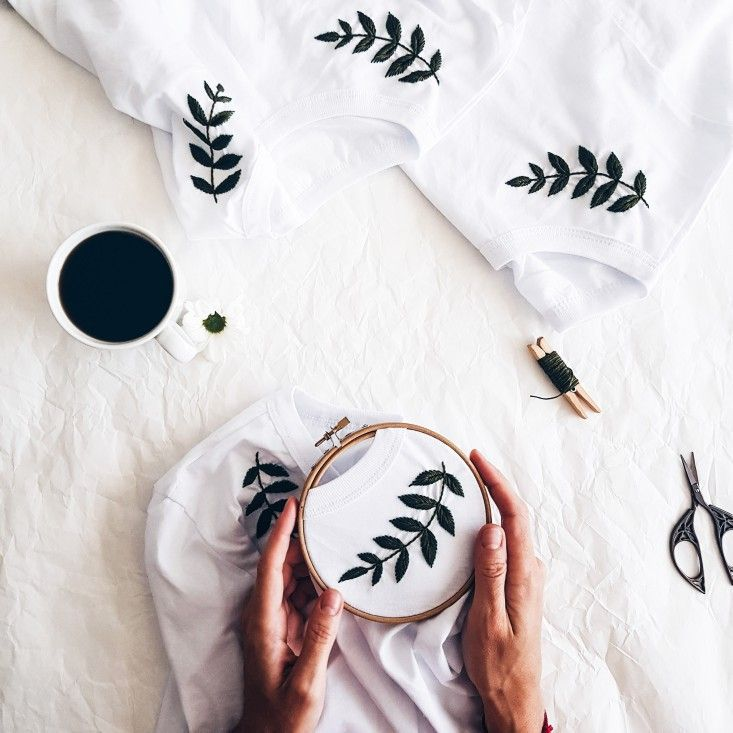 Embroidery – Hand Embroidery – Embroidery t shirt – Embroidery tshirt – Womens c…