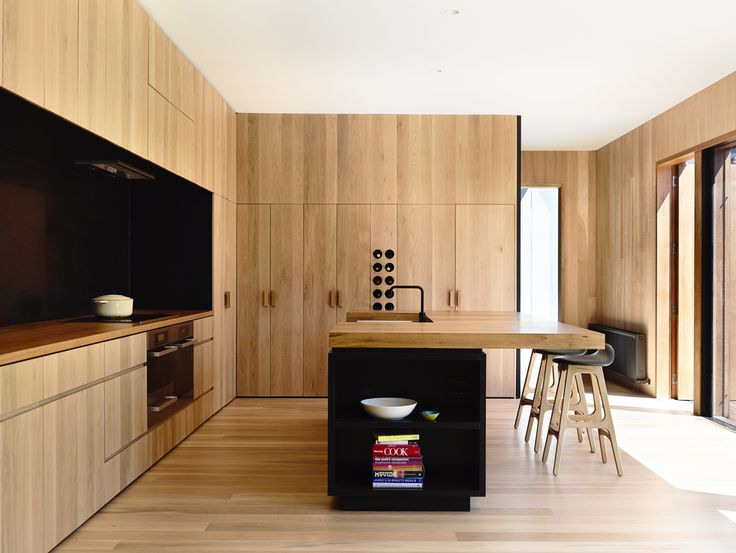 East West House by Rob Kennon Architects Wood