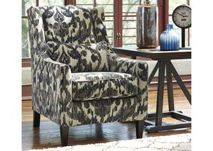 Owensbe Accent Charcoal Accent Chair
