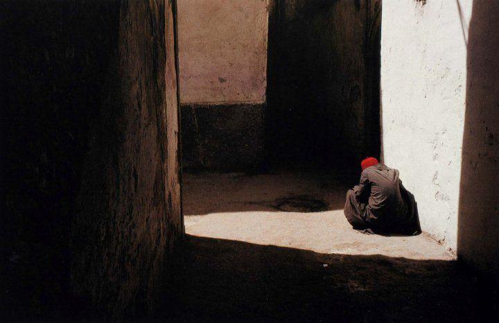 Harry GRUYAERT, Essaouira, Morocco, 1988.