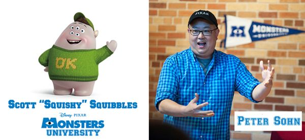 Snacktime with Squishy - Interview with Pixar's Peter Sohn #MonstersUEvent #MonstersUnversity