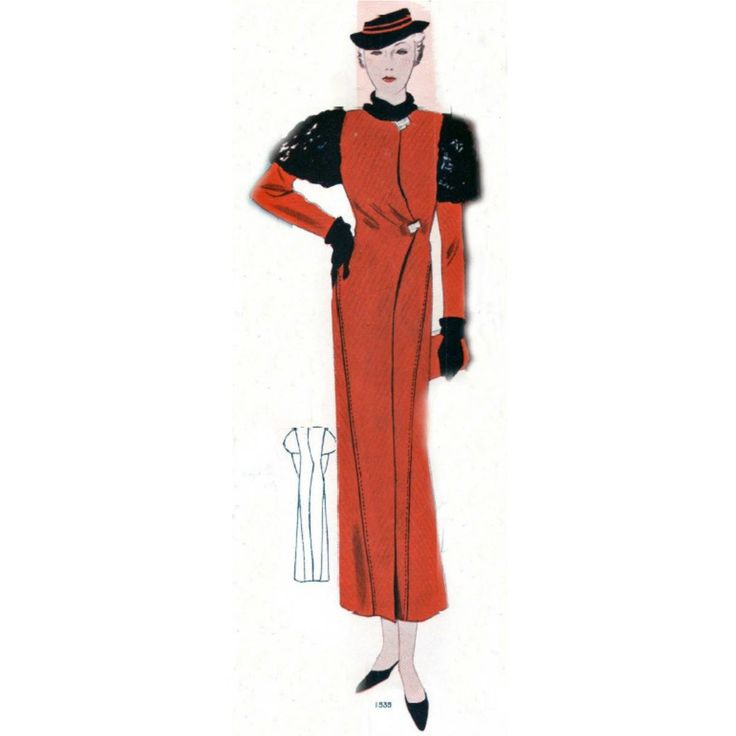 Plus Size (or any size) Vintage 1934 Coat Sewing Pattern - PDF - Pattern No 1535 Dolores 1930s 30s Patterns https://t.co/Xw5K5EEUUj #Etsy #EmbonpointVintage #Sewing https://t.co/x3Qk1ejBbX