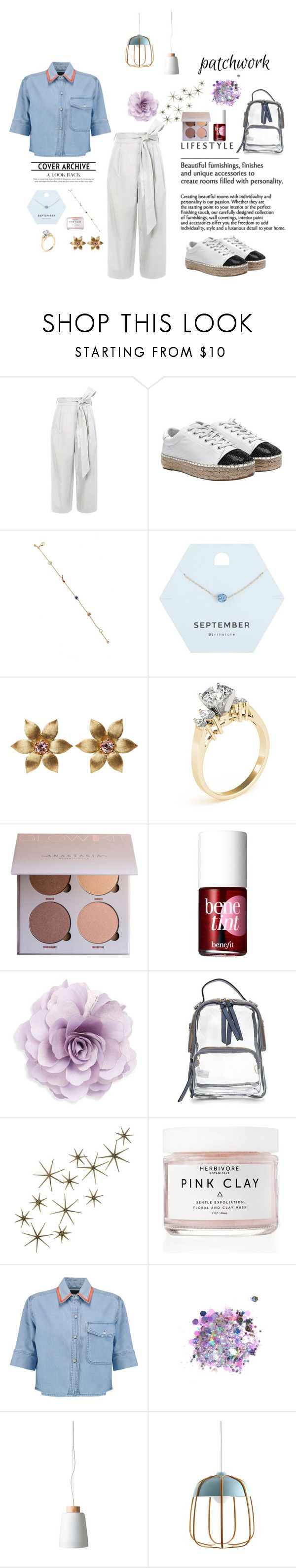 """Untitled #26"" by amala8527 ❤ liked on Polyvore featuring TIBI, Kendall + Kylie, Loquet, Miss Selfridge, Benefit, Cara, Global Views, Herbivore, Être Cécile and The Gypsy Shrine"