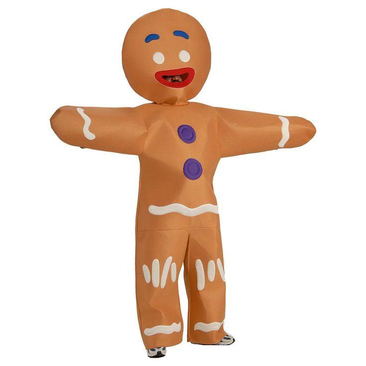 Shrek Gingerbread Man Costume - Adult, Brown