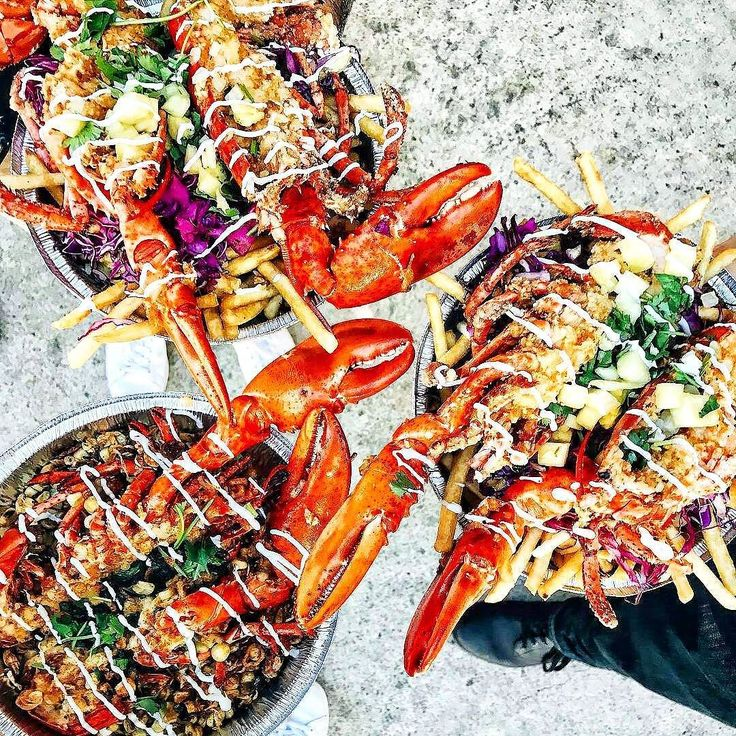 Lobster Claw Crack French Fries. Served with a garlic aioli lemon and fresh herbs. Enough said. #dropsmic  . Courtesy: Food with Michael @foodwithmichel at Doss Chinos @doschinos   @regrann via Man Happening @man_happening . . . Blog: http://ift.tt/1vCV6pv  #myfoodeatsyourfood #chef #grill #grilling #bbq #barbecue #burgers #fries #lobster #crabs #seafood #lunch #prime #meat #carnivore #f52grams #feast #instagood #foodstagram #foodgasm #foodpics #foodporn #sexy #photooftheday #feedme…