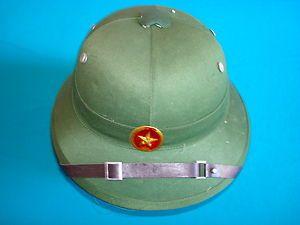 North Vietnamese Army Vietnam War | Vietnam War VC North Vietnamese UNWORN Army Pith Helmet | eBay