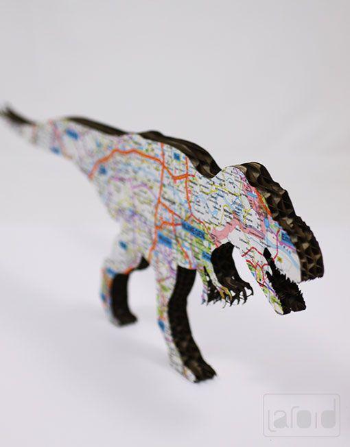 picture of the #dinosaur #Cardboard #holland #Rotterdam #nice #Laroid #handmade #customization #cardboard mail: info@laroid.com