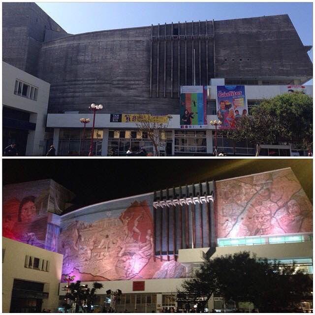 Antes y después Teatro Municipal Antofagasta @cultura.antofagasta