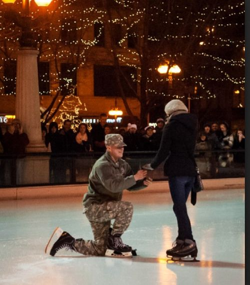 love me some military proposals <3