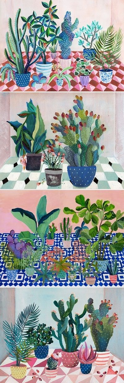 Paintings by Laura Garcia Serventi / On the Blog!