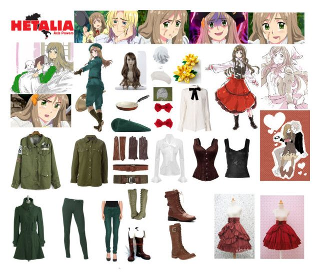 """""""Hungary Hetalia Cosplay"""" by bringmethetacos85 ❤ liked on Polyvore featuring Mother, Uniqlo, LIU•JO, The Limited, Whistles, Gucci, Tramontina, Alexander Wang, McQ by Alexander McQueen and Timberland"""