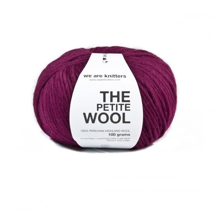 Pelote LAINE FINE 100% naturelle VIN by WE ARE KNITTERS on ezebee.com