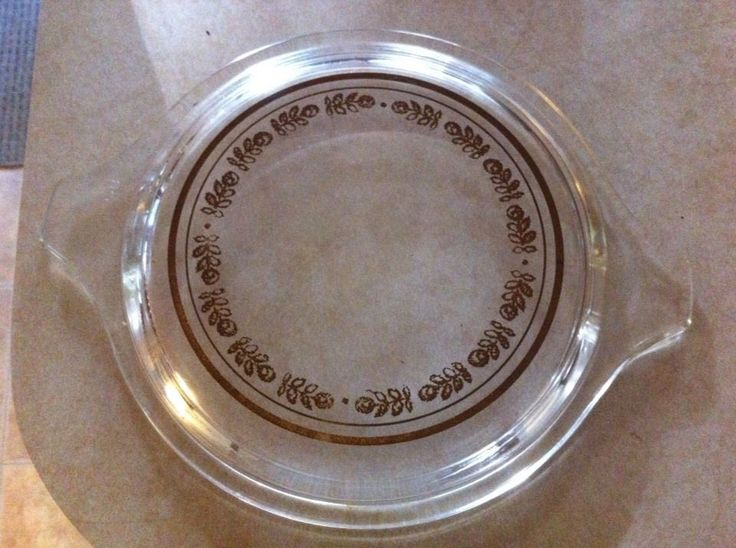 Pyrex Lid only for Harvest 473 Promo HTF #Pyrex